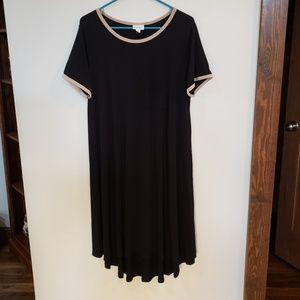 Modal Black Carly Swing Dress